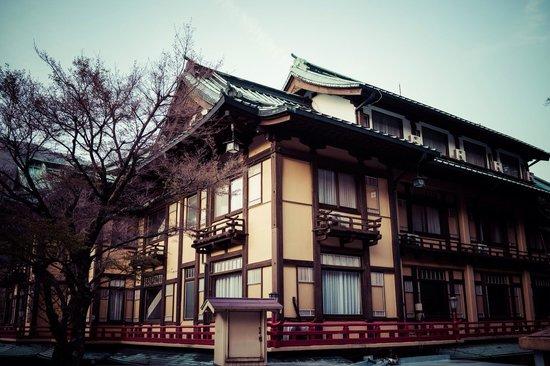 Fujiya Hotel: 花御殿外観