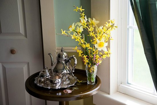 Lyttleton Inn: Spring tea in the suite