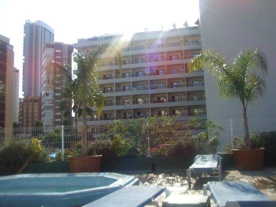 Presidente Hotel: vistas desde la piscina