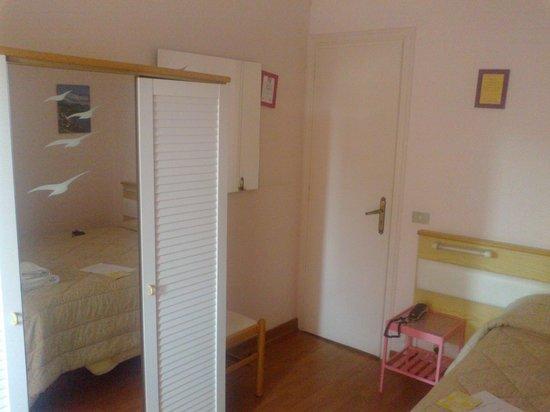 Albergo Villa Cristina : stanza rosa, n.4