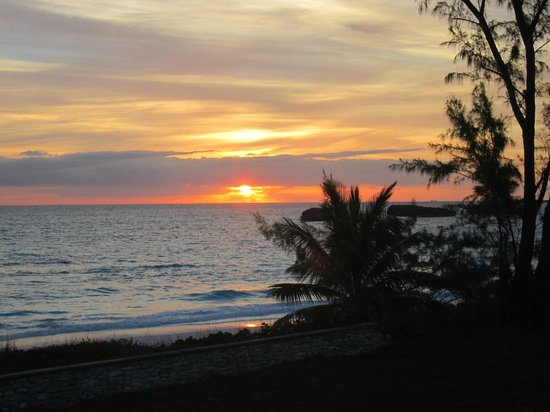 Exuma Palms Hotel: Sunrise over 3 sisters first morning