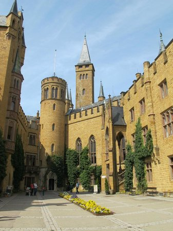 Castle of Hohenzollern : Hohenzollern Castle