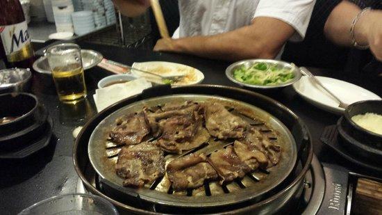 Honey Pig : Beef Tongue