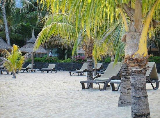 Victoria Beachcomber Resort & Spa: les transats