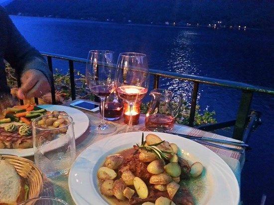 Locanda Gandriese Restaurant : Capretto con patate