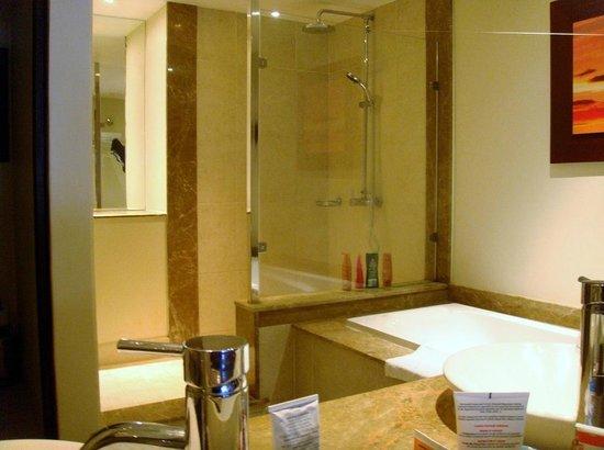 Victoria Beachcomber Resort & Spa: la grande douche