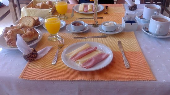 Posada Shemak: El Desayuno