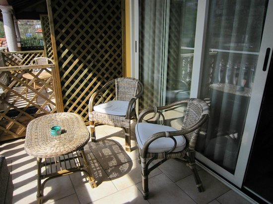 Azalea: il balcone