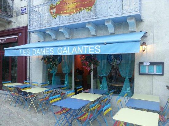 Les Dames Galantes: Le Restaurant