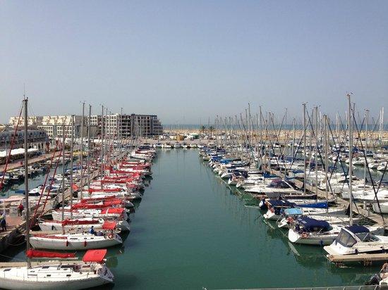 The Ritz-Carlton, Herzliya: Marina view from breakfast