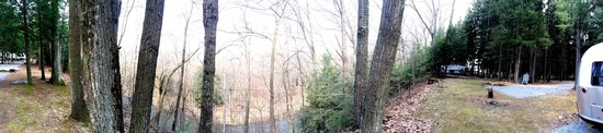 Lock 30 Woodlands RV Campground Resort : View from the campsites