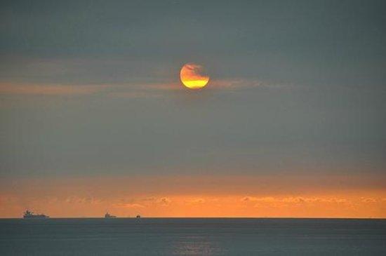 Turi Beach Resort: Sunrise from room!