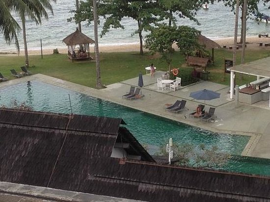 Turi Beach Resort : The pool