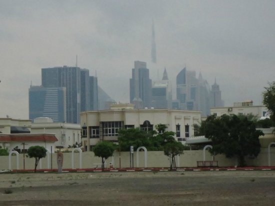 Citymax Hotels Bur Dubai: вид из отеля