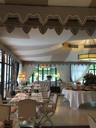 Villa Cora : Colazione mattutina