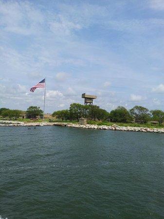 Miss Hampton II Cruises: Fort Wool taken from Miss Hampton II Cruise