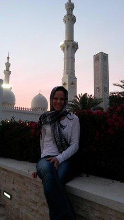 Mezquita Sheikh Zayed: Beautiful Sunset