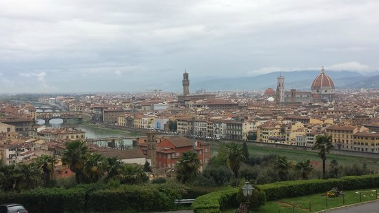 Piazzale Michelangelo: View from the top