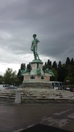Piazzale Michelangelo: Replica of David