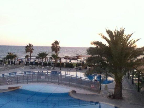 Kefalos Beach Tourist Village : View from lobby