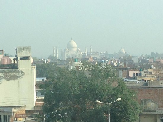 The Gateway Hotel, Agra: View of Taj from room