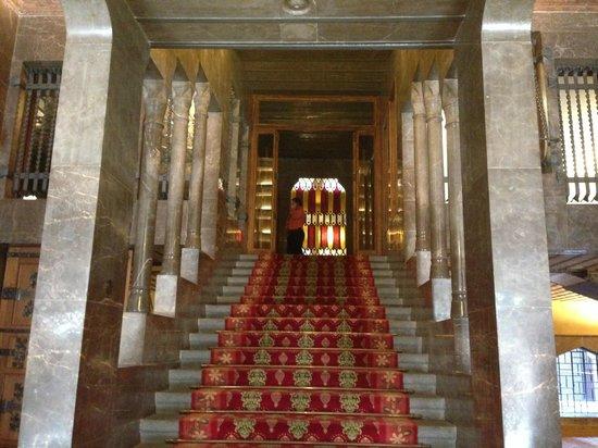 Palais Güell : entrence