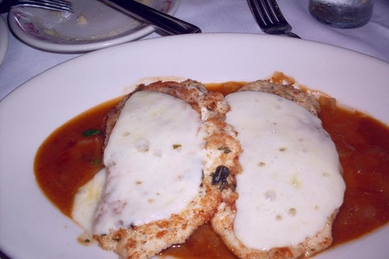 Maggianos Little Italy Chicken Saltimbocca