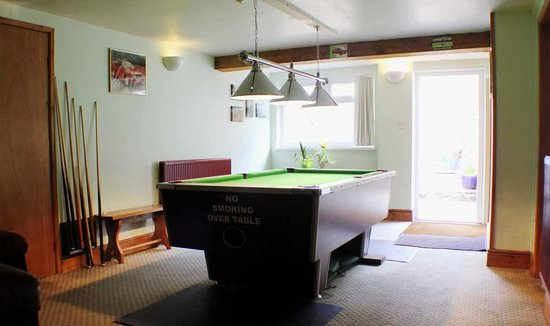 Afon Duad Inn: The games room