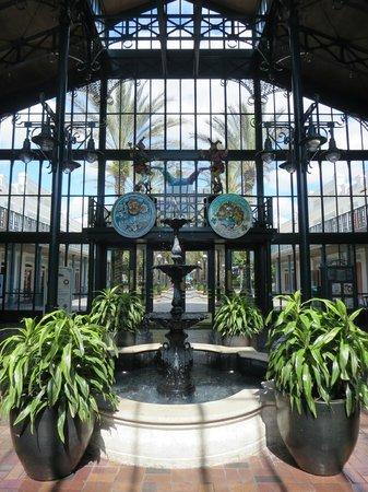 Disney's Port Orleans Resort - French Quarter : 入口