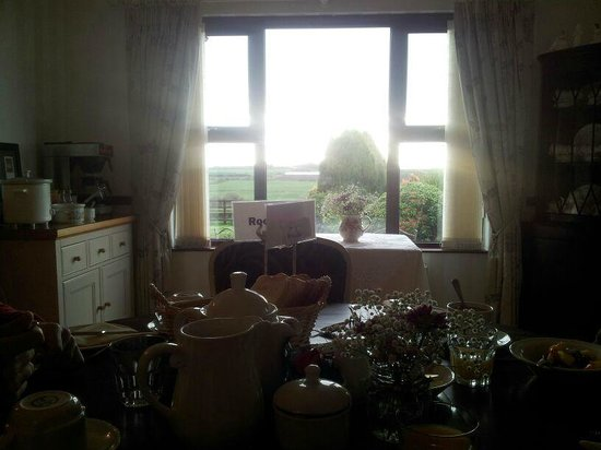 Valley View Country House B & B: Comedor