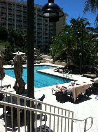 JW Marriott Marco Island Beach Resort: Deserted spa pool