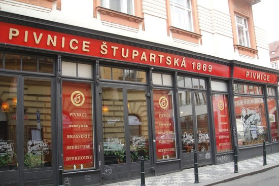 Pivnice Stupartska: С улицы
