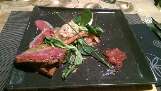 La Cabane: Escalope de foie gras poeler