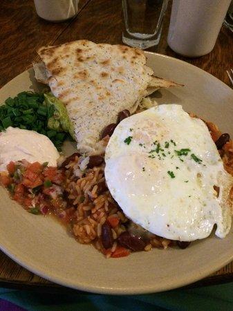 Bayside American Cafe: Huevos Rancheros