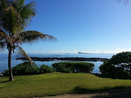 Canonnier Beachcomber Golf Resort & Spa: mer calme le matin