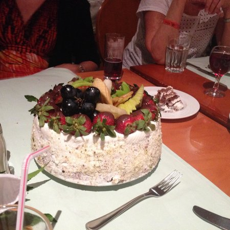 Hilton Sharks Bay Resort : My daughters cake