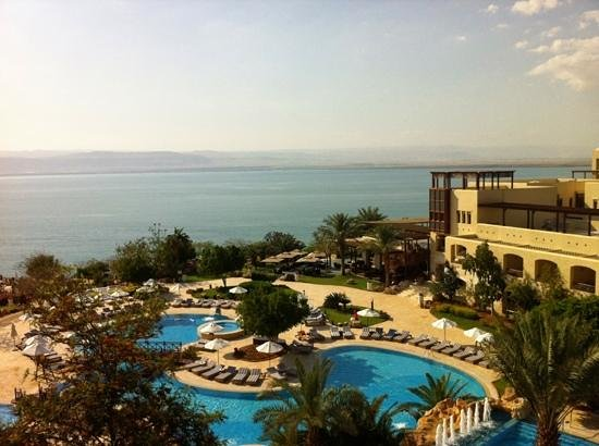 Jordan Valley Marriott Resort & Spa: view from the southern wing