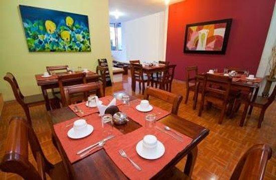 Hotel Mainao: Dining area at Mainao Hotel