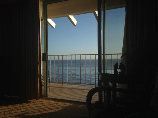 Monterey Plaza Hotel & Spa: View from Ocean View Room
