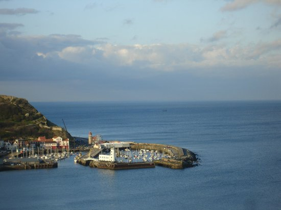The Crown Spa Hotel: The harbour from South Bay, Scarborough