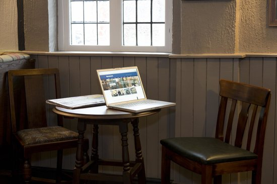 The Old Bell Inn: Free Wi-Fi