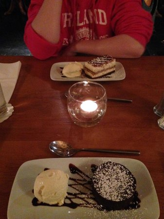 Il Vignardo Restaurant: Desserts