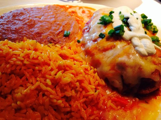 Miguel's Mexican Restaurant : Chili Rellenos