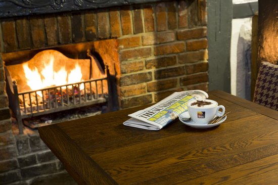 The Old Bell Inn: Great Coffee