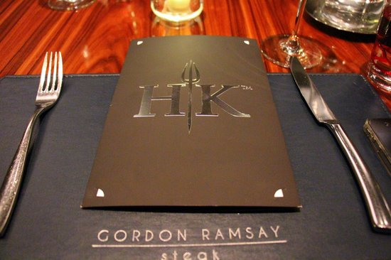 Superb Hells Kitchen Menu Fixed Picture Of Gordon Ramsay Steak Interior Design Ideas Helimdqseriescom