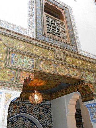 Riad Idrissy: Innenhof