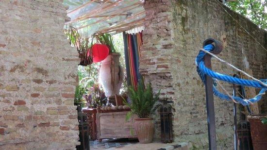 Riad Idrissy: Eingang ins Restaurant