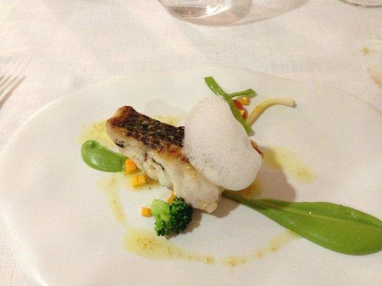 La Forquilla Restaurant: Fish course