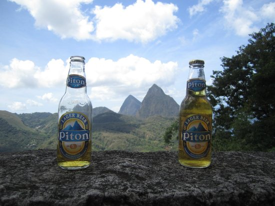 Cosol Tours: Pitons between the Pitons