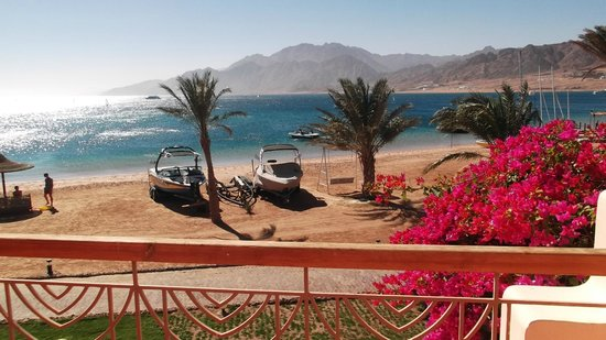 Ibis Styles Dahab Lagoon: Sea view from our room